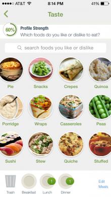 taste screen photo