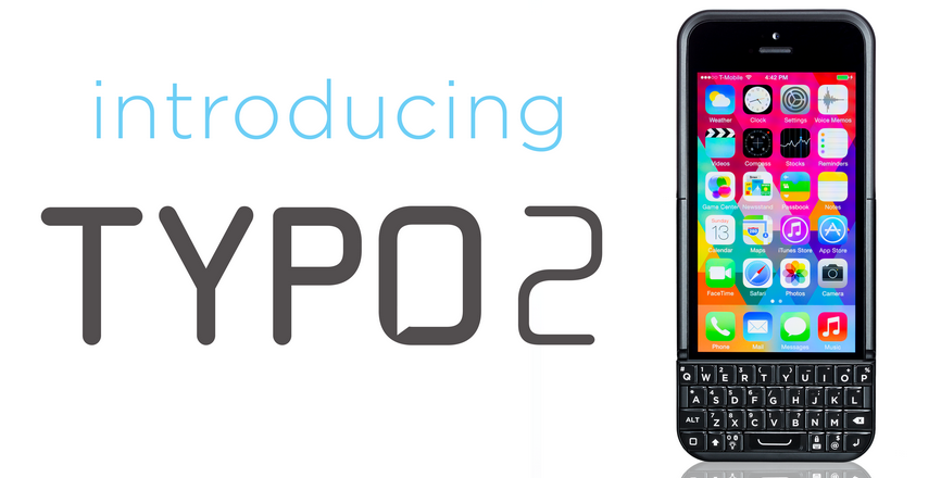 wholesale dealer 127aa 2428b Typo 2 iPhone 5s Keyboard Case up for Pre-order at $99