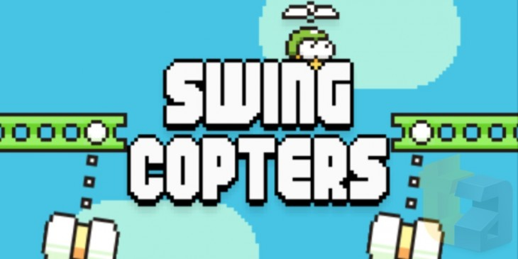 Hands-on with Swing Copters, the follow-up to Flappy Bird