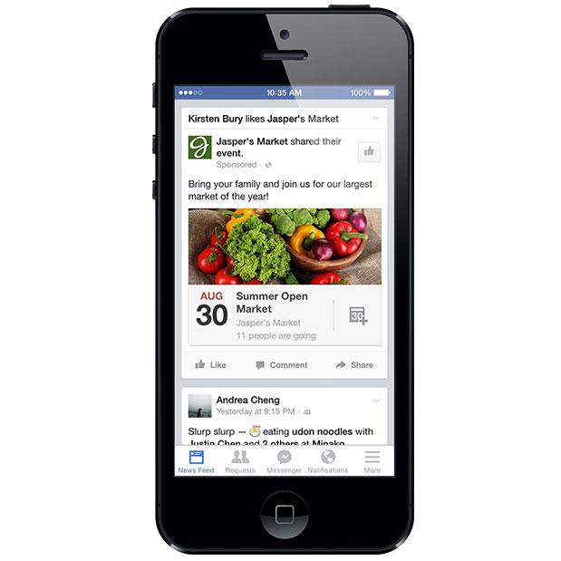 how to open facebook desktop website on mobile