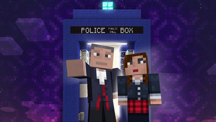 Geronimo! Doctor Who is coming to Minecraft on Xbox 360