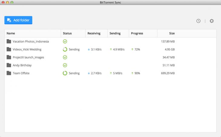 BitTorrent Sync 1.4 on Desktop (2)