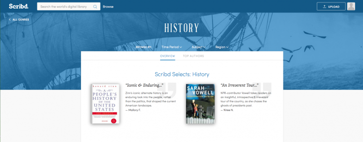 Scribd overhauls its ebook subscription service to help you find interesting reads