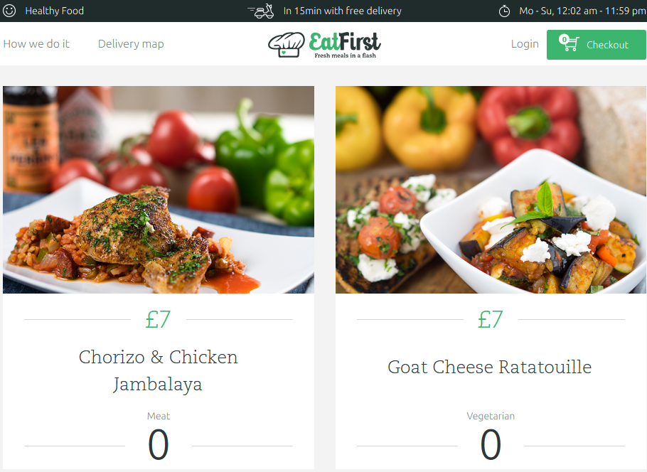Rocket Internet Launches EatFirst in London