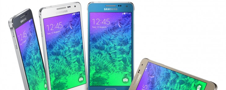 Samsung moves beyond plastic with the Galaxy Alpha, a 4.7-inch smartphone with a metal chassis