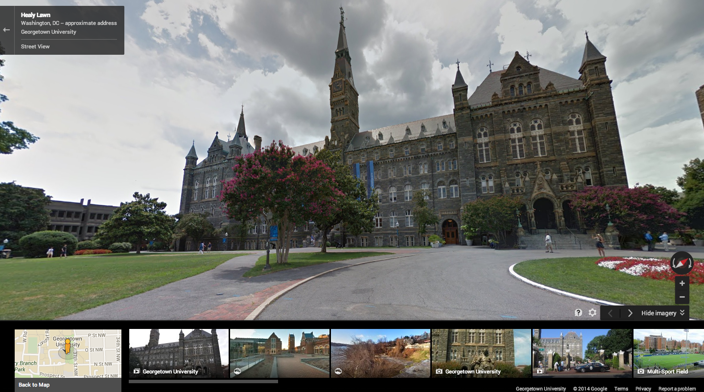 Google Adds 36 University Campuses to Street View