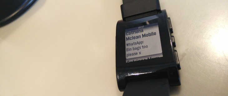 Pebble for Android now lets you read your WhatsApp messages on your wrist