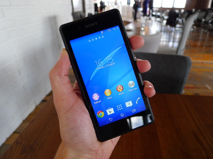 Sony's Xperia E3 is an entry-level Android smartphone with LTE