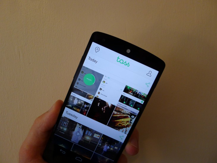 Line launches Toss, an app that makes it easy to share groups of photos and videos