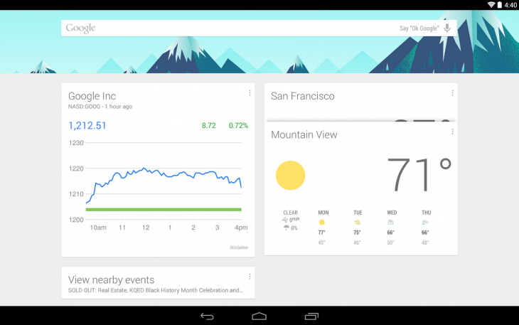 Google Now Launcher is now available for all Android 4.1 and later devices