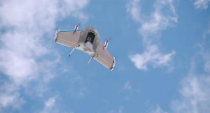 Google has been working on a drone delivery system called Project Wing