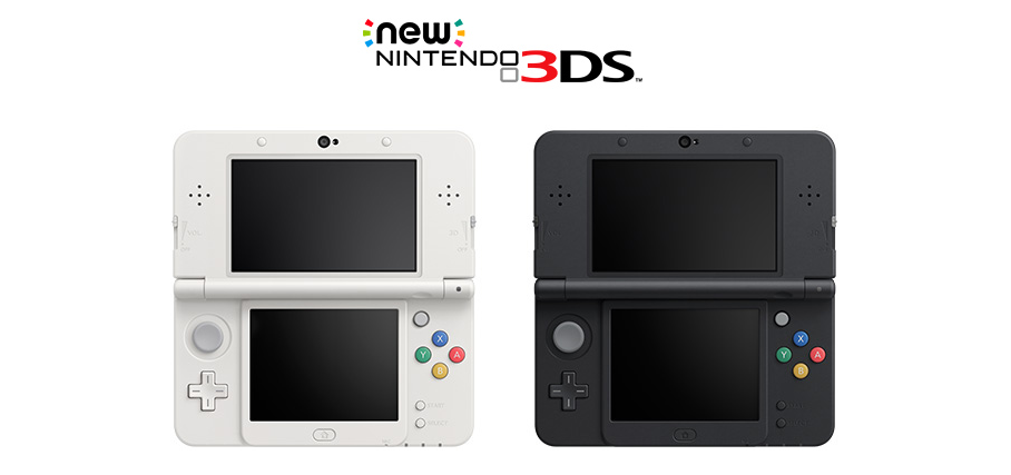 nintendo unveils 39 new 39 3ds and 3ds ll video game consoles. Black Bedroom Furniture Sets. Home Design Ideas