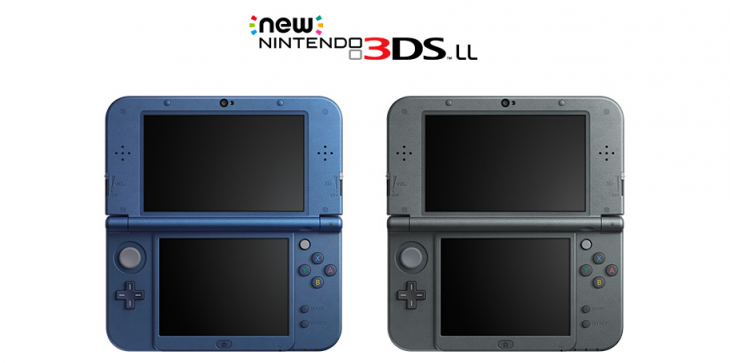 Nintendo Unveils 'New' 3DS and 3DS LL Video Game Consoles