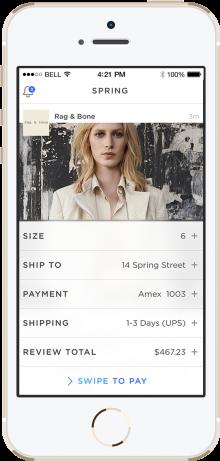 Spring Screenshot Checkout