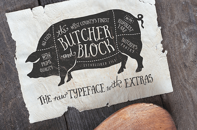 butcher-block
