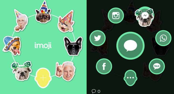 Imoji now lets you share custom stickers to Twitter, WhatsApp, Facebook and Instagram
