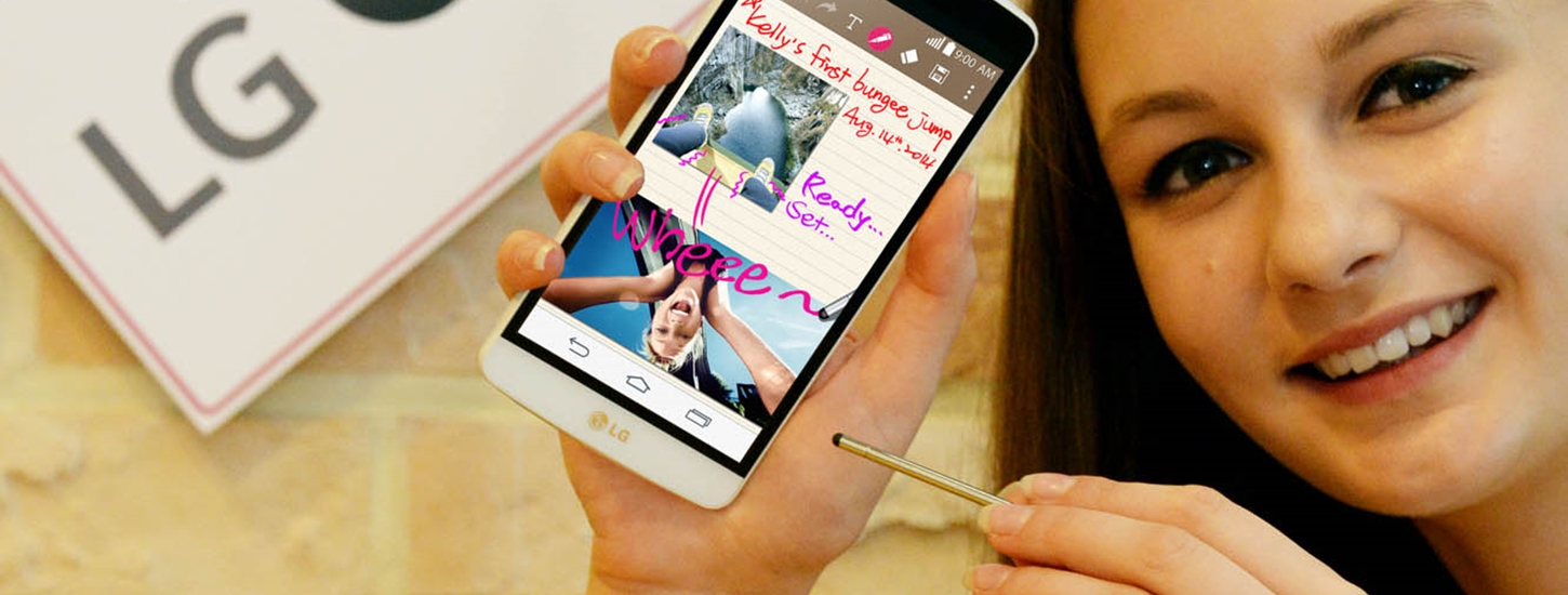 LG Launches its Own Galaxy Note Competitor