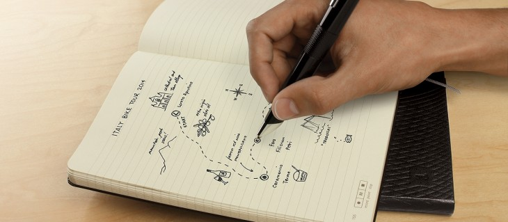 You can now use your Livescribe smartpen with Moleskine notebooks