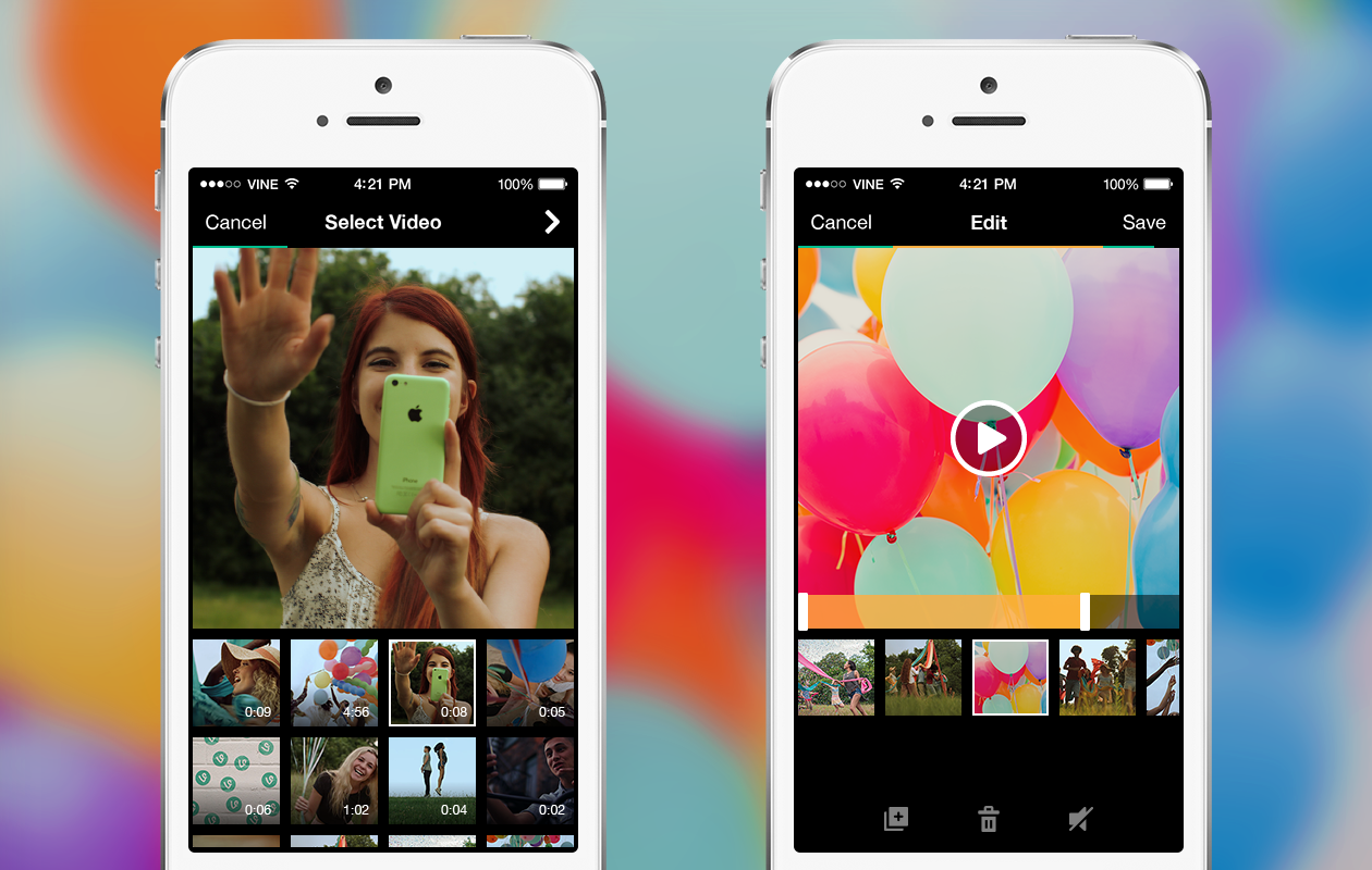 Vine Adds Option to Import Videos, Just Like Instagram