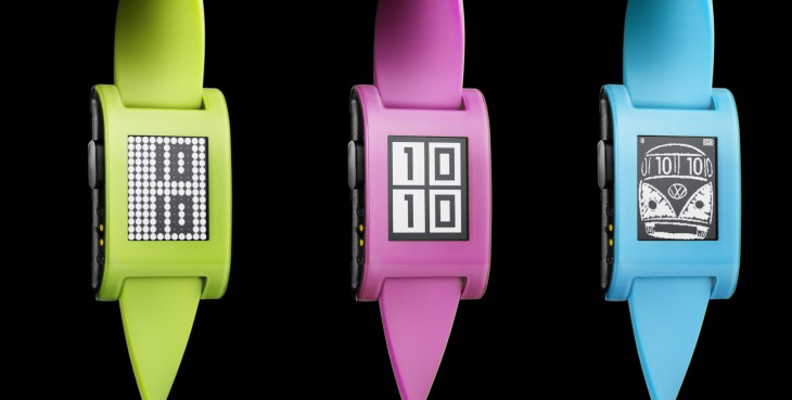 Pebble launches limited edition neon green, blue and pink smartwatches