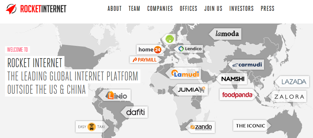 Rocket internet ipo value