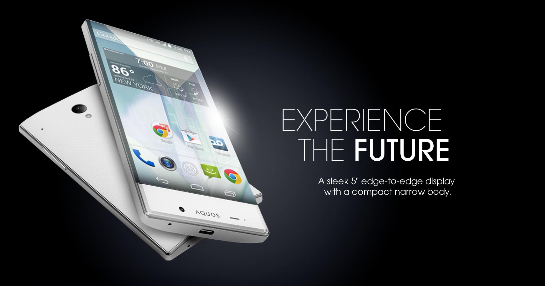 Sprint Unveils 5-inch, Nearly Bezel-Free Sharp Aquos Crystal