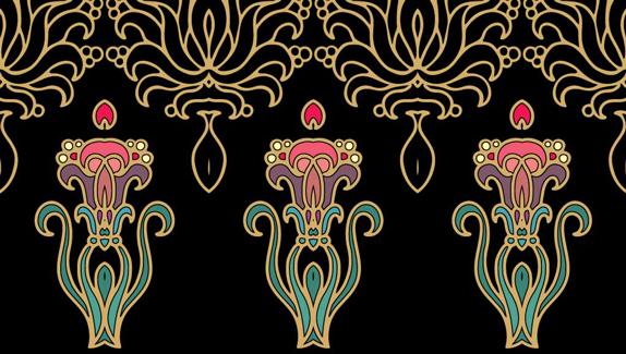 5 contemporary illustrators pay homage to art nouveau