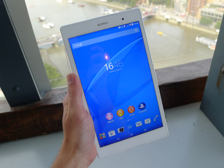 Sony Xperia Z3 Tablet Compact: A skinny, Waterproof 8-inch ...