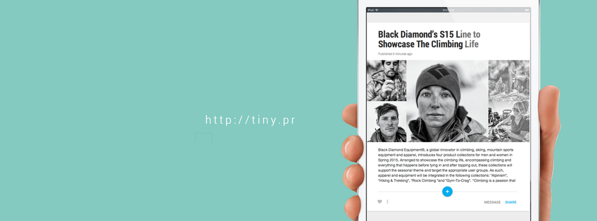 Tiny Pitch: An Easy, Attractive Way to Send Press Releases