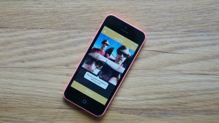 The Waffle app lets you remix your friend's photos a la the Brady Bunch
