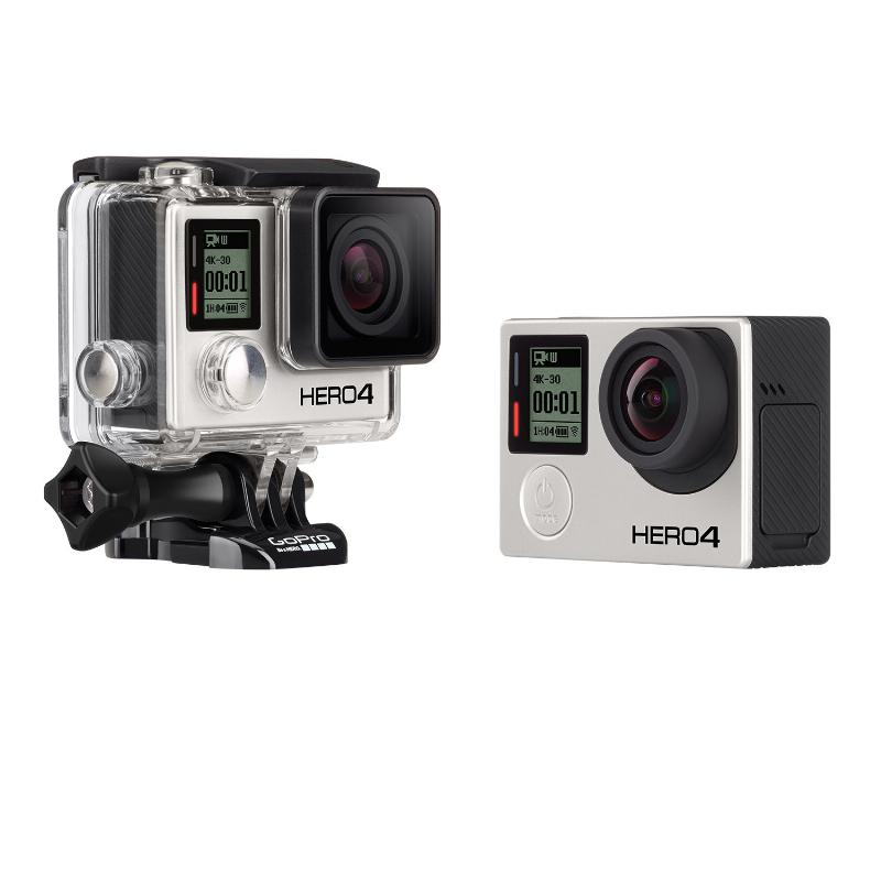 GoPro Unveils HERO4 Black, Silver and Basic $129 HERO