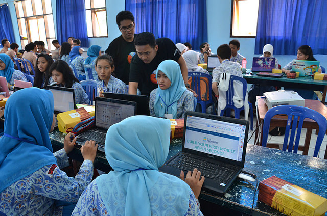 A Maker Party in Surabaya, Indonesia