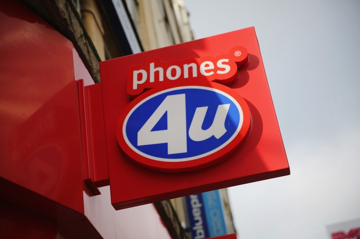 Vodafone buys 140 Phones4u stores, expects to hire 900 former employees