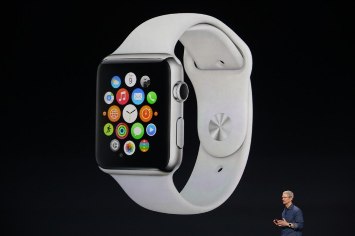Here it is: The Apple Watch