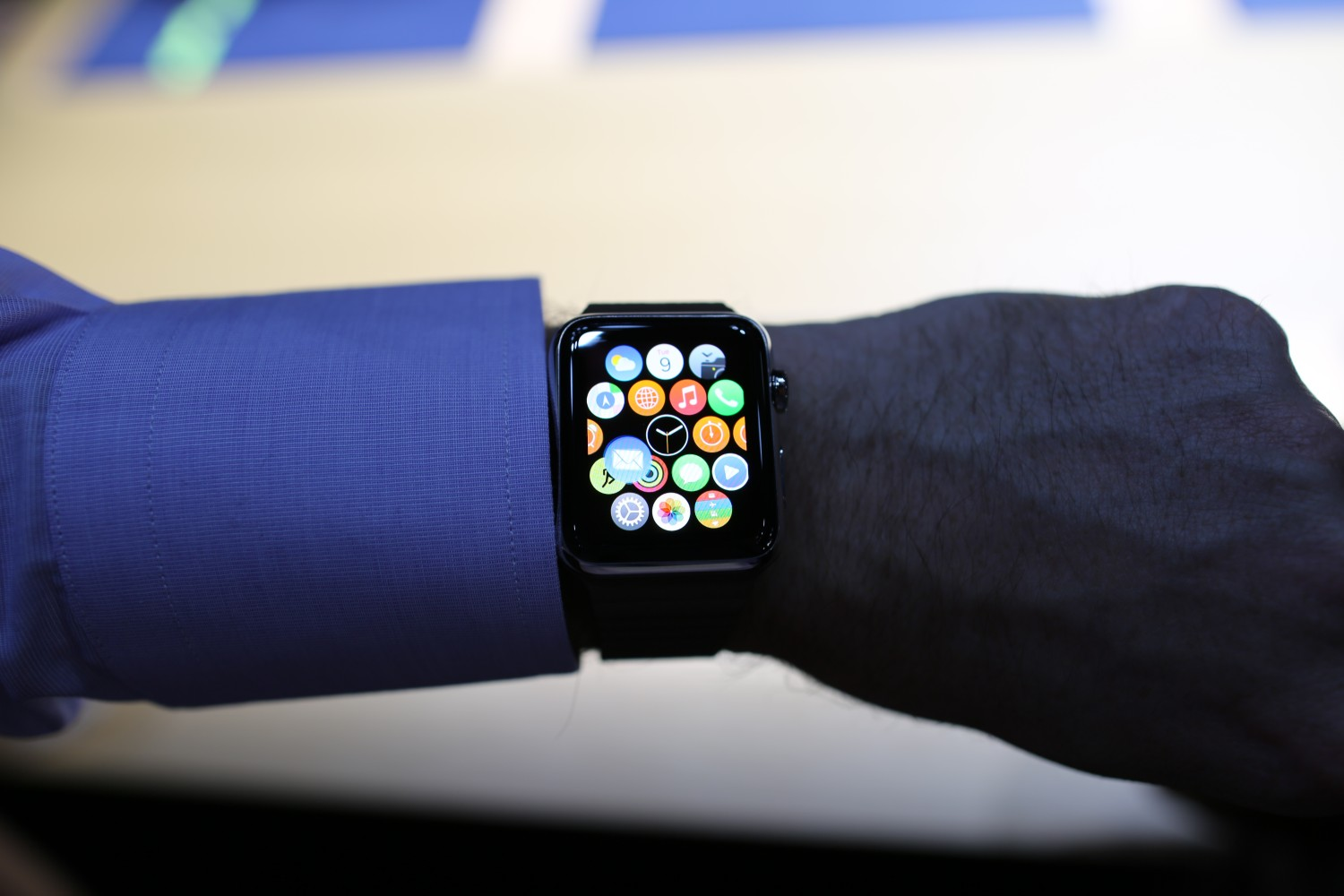 Hands On With the Apple Watch, Sort of