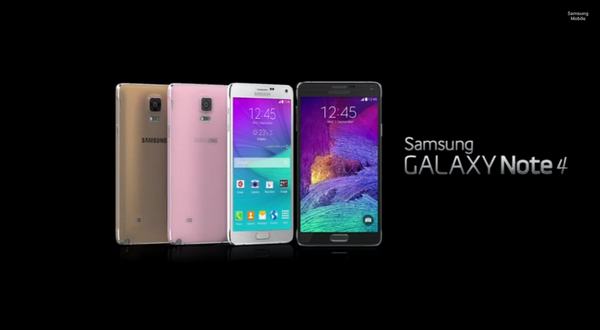 Samsung announces the Super AMOLED Galaxy Note 4 and Note Edge with curved screen