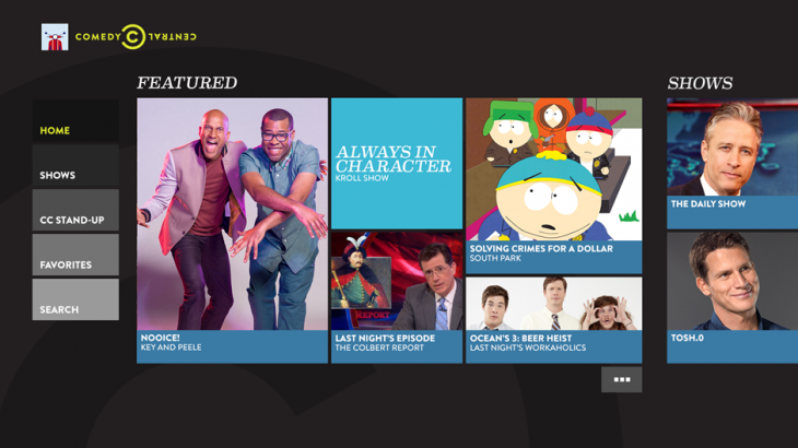 Comedy Central app brings laughs aplenty to Xbox One
