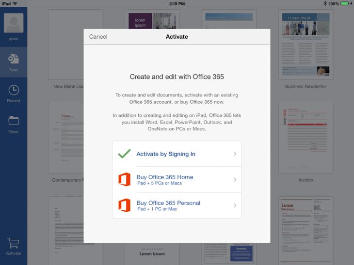 Create-Office-subscription