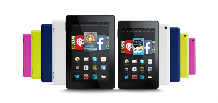 Amazon announces new 6″ and 7″ Fire HD budget tablets, starting at $99