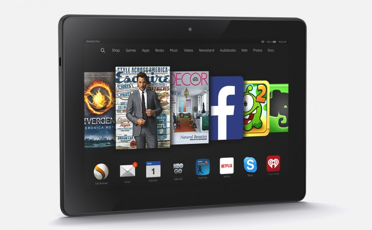 Amazon introduces the next-gen Fire HDX 8.9 tablet with the latest Fire OS 4 Sangria