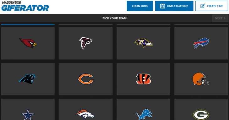 Google meshes 'smack talk' with GIFs to launch the Madden Giferator for the new NFL season ...