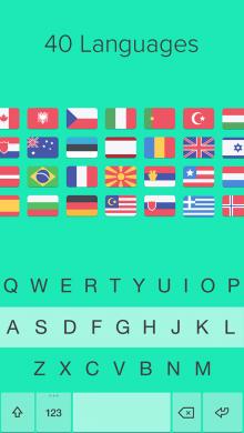 Fleksy-iOS8-languages