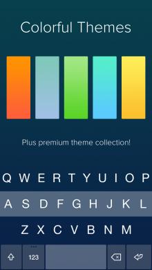 Fleksy-iOS8-themes