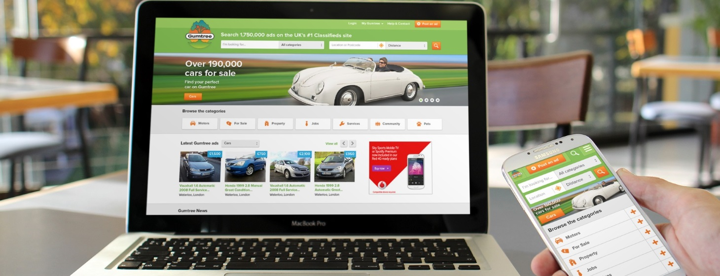 ebay-owned Gumtree Rebuilds Its Classifieds for Mobile