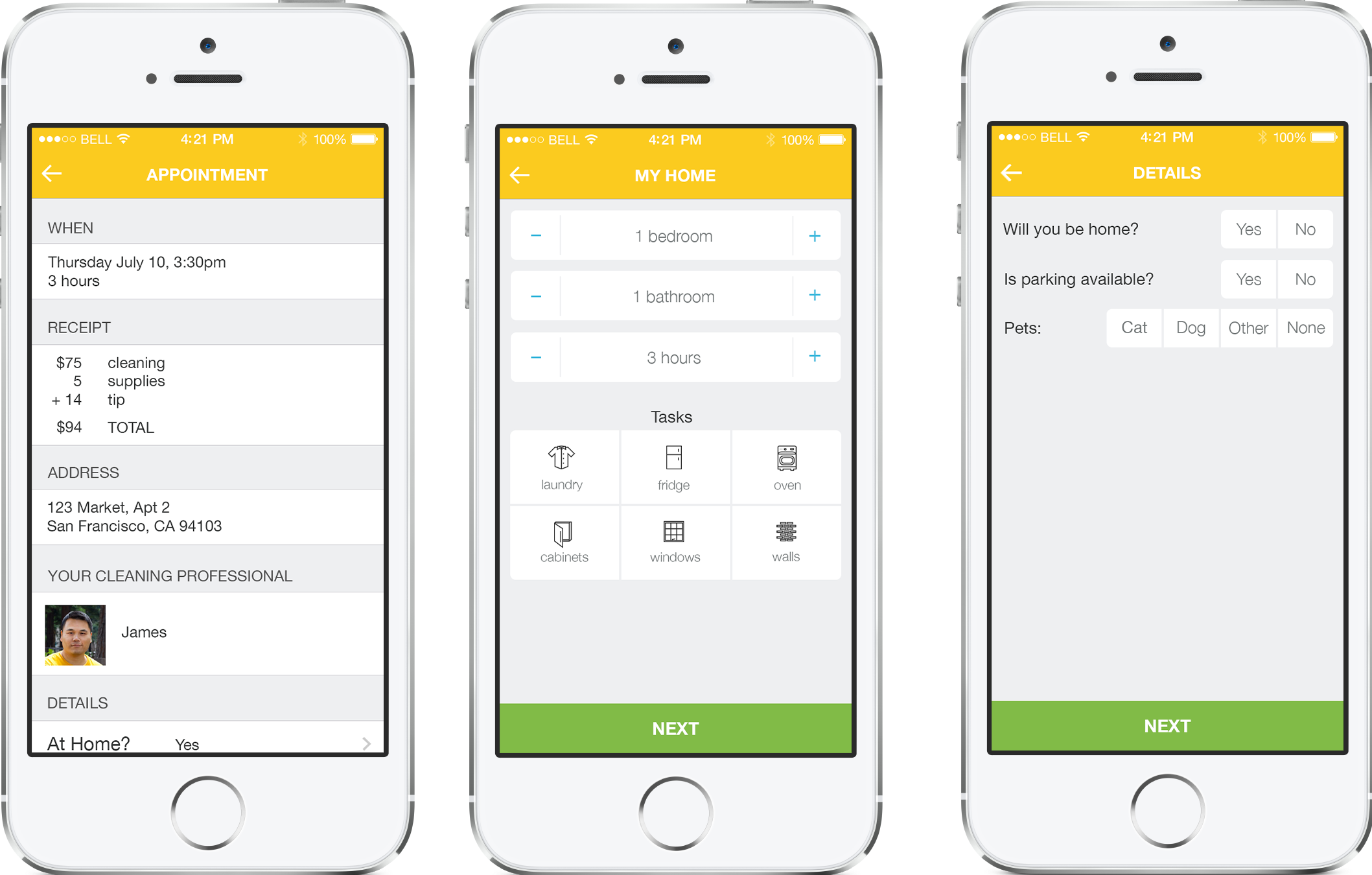 Homejoy Launches its First Cleaner-booking App for iPhone - The ...