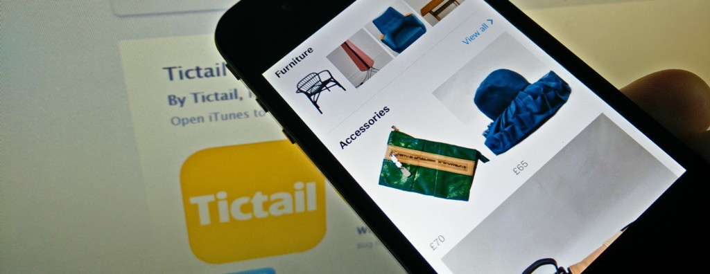 Tictail Launches Consumer App for Unique Items