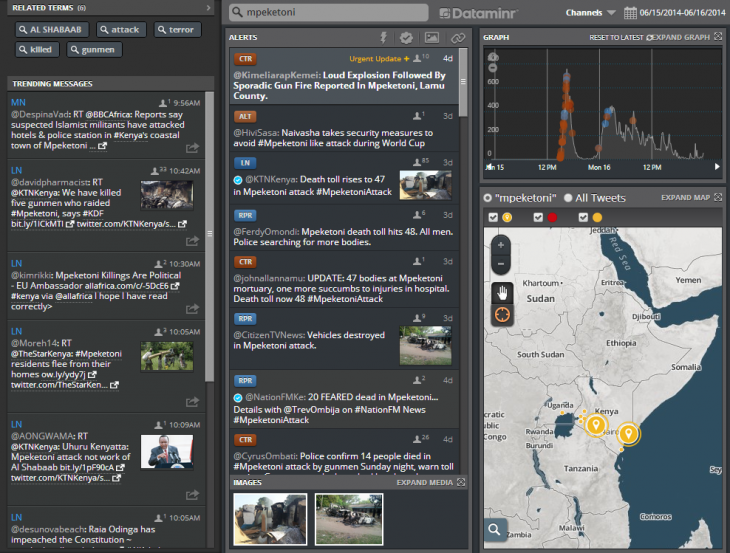 Dataminr launches a media-focused service that scans Twitter for breaking news
