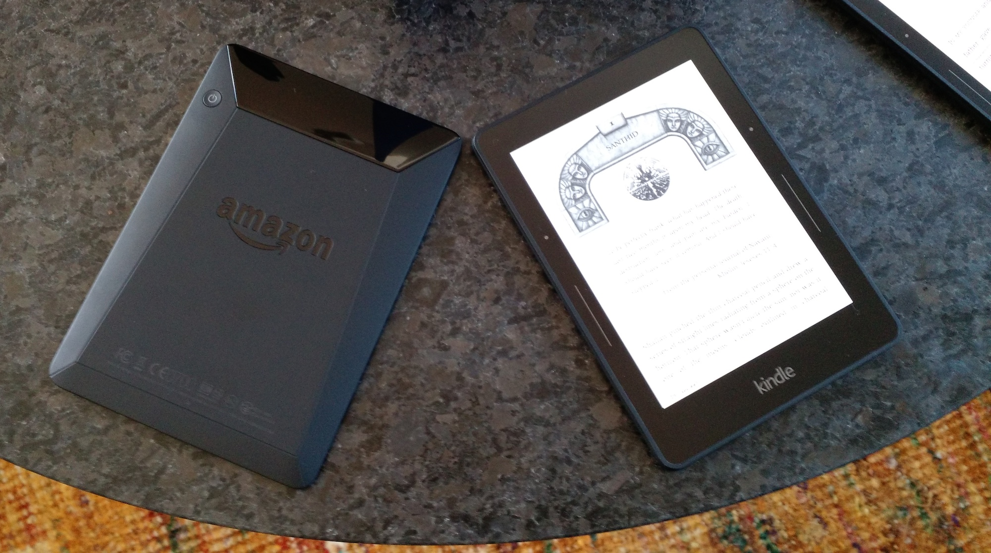 Amazon Announces $199 Kindle Voyage With Haptic Sensors