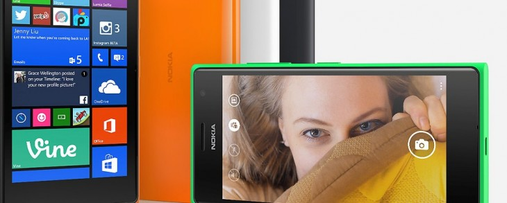 Microsoft announces the dual-SIM 3G Lumia 730 and LTE Lumia 735, with selfies in mind
