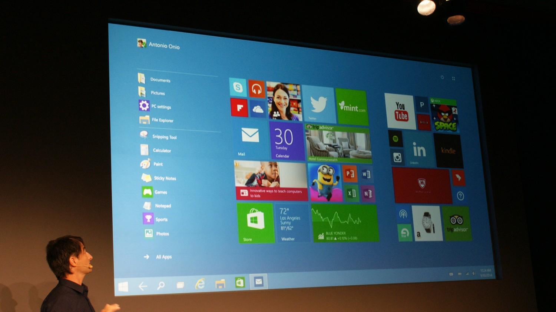Microsoft announces windows 10 for Microsoft windows 10